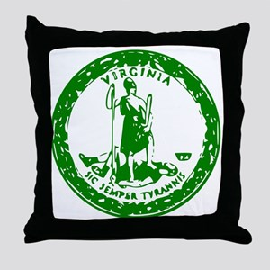 VAgreenseal Throw Pillow