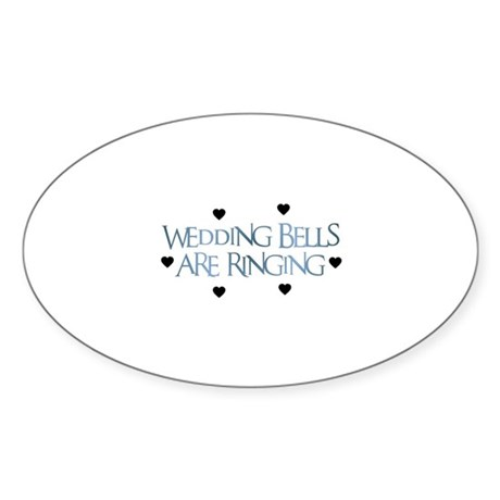 Wedding Bells Stickers CafePress