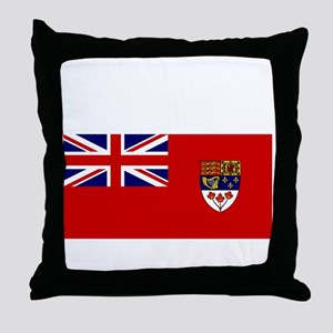 Canada-Red-postWWII Throw Pillow
