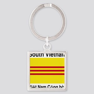 South-Vietnam-Light Square Keychain