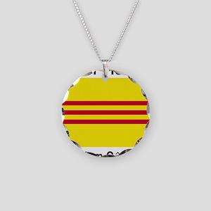 South-Vietnam-Light Necklace Circle Charm