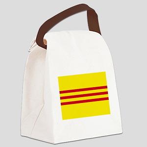 South-Vietnam-Dark Canvas Lunch Bag