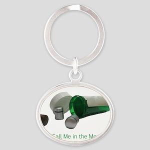 cache take 2 Oval Keychain