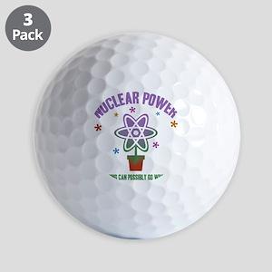 nuclear-go-wrong-T Golf Balls