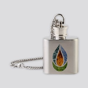 6x6ChaliceDark Flask Necklace