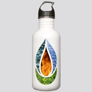 6x6ChaliceDark Stainless Water Bottle 1.0L