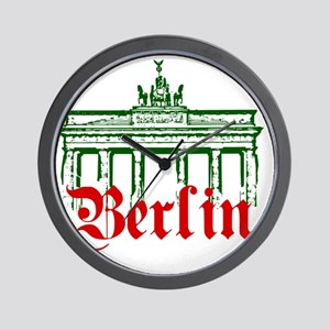 Berlin Brandenburg Gate Wall Clock