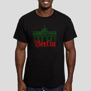 Berlin Brandenburg Gat Men's Fitted T-Shirt (dark)
