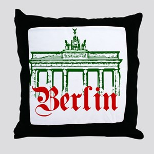 Berlin Brandenburg Gate Throw Pillow