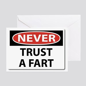 Bucket list greeting cards cafepress never trust a fart greeting card m4hsunfo