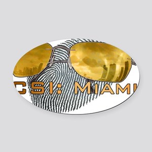 CSI.M1 Oval Car Magnet