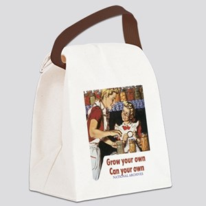 Can your own transparent Canvas Lunch Bag