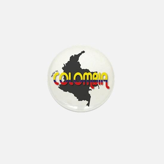Hecho en Colombia Mini Button