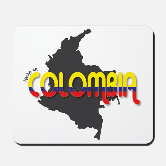 Hecho en Colombia Mousepad