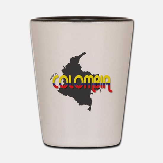 Hecho en Colombia Shot Glass