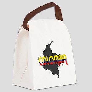 Hecho en Colombia Canvas Lunch Bag