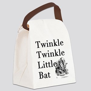 Mad Hatter- Twinkle Twinkle Littl Canvas Lunch Bag