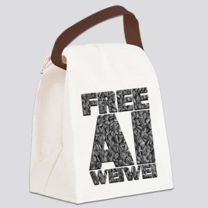 Free Ai Weiwei Canvas Lunch Bag