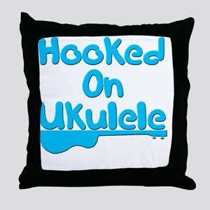 ukulele stringed instrument uke Throw Pillow