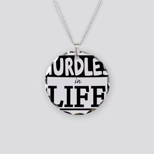 Hurdles Necklace Circle Charm