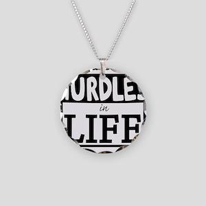 Hurdles Necklace Circle Charm