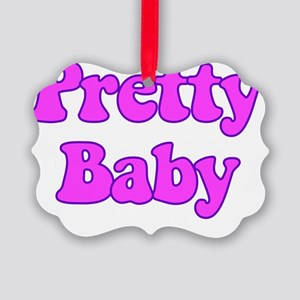prettybaby Picture Ornament
