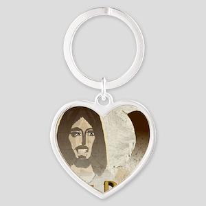 10X10heisrisen Heart Keychain