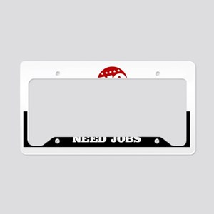 Plsaynotounions License Plate Holder