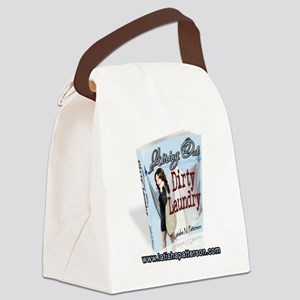 Airing Out Dirty Laundry Canvas Lunch Bag