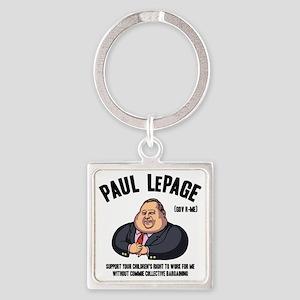 lepage-LTT Square Keychain