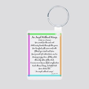 Nurse Poem Aluminum Photo Keychain