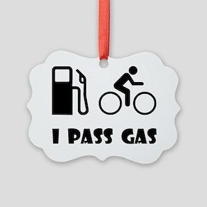 Pass Gas Black Picture Ornament