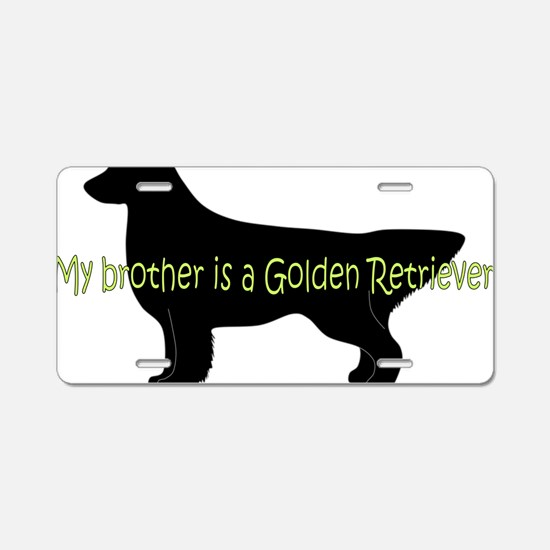 Golden_Brother Aluminum License Plate