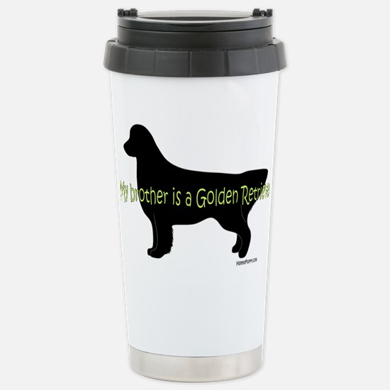Golden_Brother Stainless Steel Travel Mug