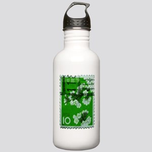 flower_green Stainless Water Bottle 1.0L