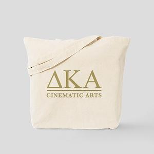 Delta Kappa Alpha Gold Letters Tote Bag