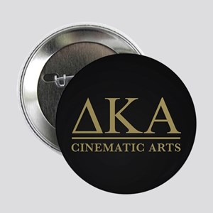 """Delta Kappa Alpha Gold Letters 2.25"""" Button"""