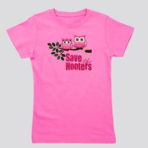 save the hooters 2 copy Girl's Tee