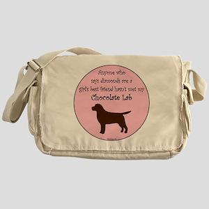 GBF_Lab_Chocolate Messenger Bag