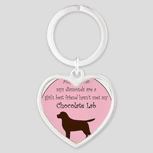 GBF_Lab_Chocolate Heart Keychain