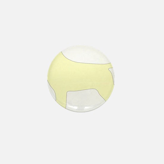 YellowLabSilhouette Mini Button