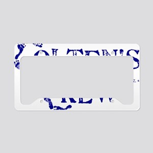 COLTENS CREWonly_BLUE License Plate Holder