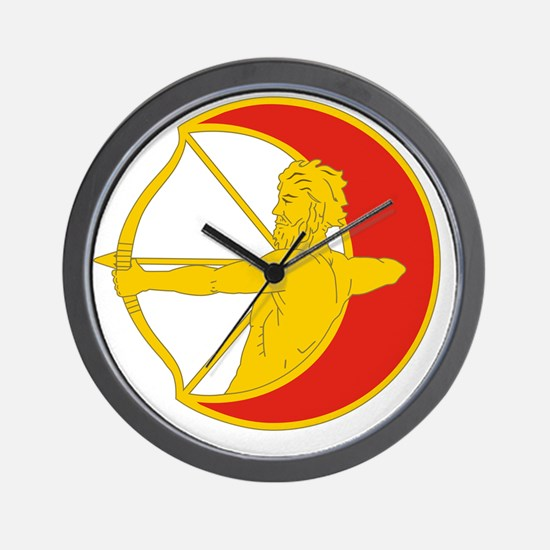 121st Infantry Division Artillery Wall Clock