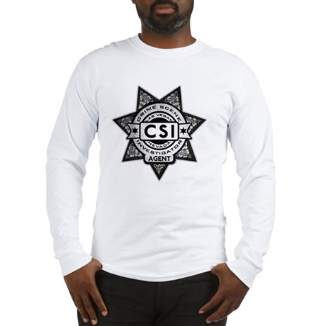 Badge.CSI.Fake Long Sleeve T-Shirt