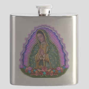 Lady of Guadalupe T4 Flask