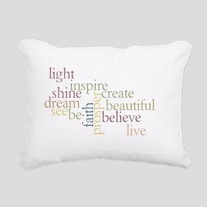Faith Matters Rectangular Canvas Pillow