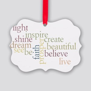Faith Matters Picture Ornament