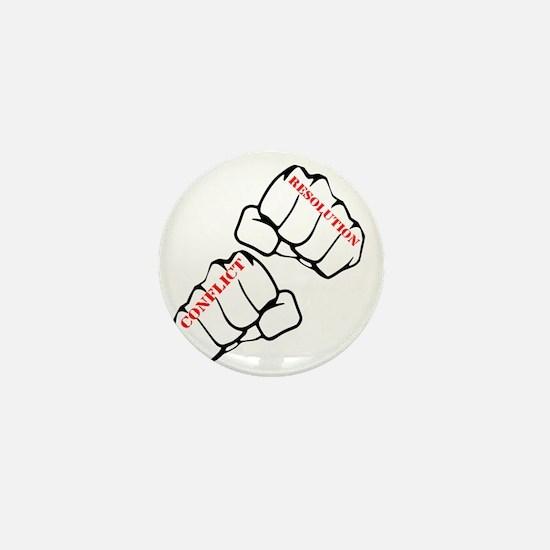 Conflict Resolution Mini Button