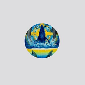 Peacewhale.1 Mini Button