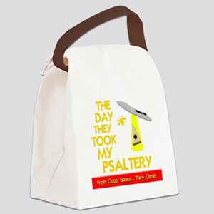 funny psaltery bowed psalteries Canvas Lunch Bag